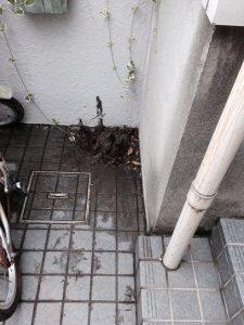 銚子市Y様宅排水パイプ