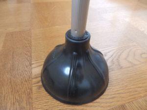 ラバーカップ先端部(排水口用)