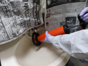 ローポンプを洗面台で使う