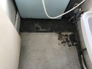 稲毛区T様宅浴室つまりの作業完了写真