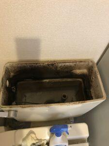 鎌ヶ谷市C様宅トイレタンク内写真