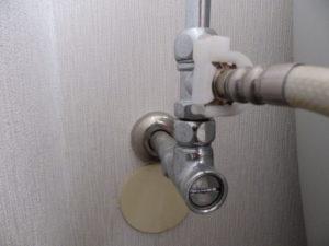 トイレの止水栓の例