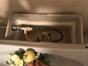 いすみ市S様宅トイレ水漏れ修理画像