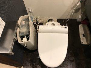 大網白里市R様店舗トイレつまり便器脱着画像