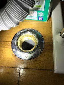 館山市A様宅洗濯機つまり除去後画像