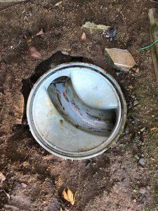 東庄町W様トイレつまり除去作業完了
