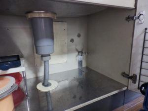 キッチン下の状態
